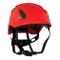 3M 3M-KAS-Secure_C - Casco protettivo, taglia unica, colore: Rosso