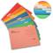 INTVN Cartelle Sospese A4 per Cassetti Cartelle portadocumenti da appendere Colori Assorti...