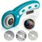 OfficeTree Taglierina Circolare per Tessuti - Cutter Rotanti per Tagliare con Precisione e...