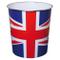 JVL - Cestino, Motivo: Union Jack, 25x26,5 cm