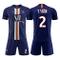 Abito da Calcio Sportivo 19-20 Stagione Paris Uniforme da casa e da Calcio Tuta 7.Mbappé 1...