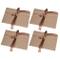 30 pezzi Busta Kraft Busta di carta MOOKLIN Kraft riciclata Buste di Retro Carta Fatti a M...