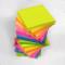 EVG, 1200 foglietti adesivi per appunti,in colori fluo assortiti, removibili, misura 76x...