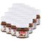 Nutella Ferrero piccolo mini design vetro 16er Set a 25G, pane aufstrich, Noce nugat Crem...