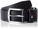 Tommy Hilfiger New Denton Belt Cintura, Blu (Midnight), 80 cm (Taglia fabricante L) Bambin...