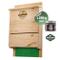 Martenbrown® Scatola da Pipistrello Premium a Tre camere Bat House Scatola di nidificazion...