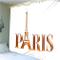 zhkn Arazzo Stampa Digitale Parigi Modello Arazzo Coperta da Parete Telo Mare Tappeto Cope...