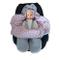 SWADDYL – Copertina universale in cotone avvolgente neonato per ovetto, seggiolino auto Ma...