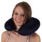 Betz Cuscino cervicale Relax con microgranuli Colore Blu Scuro