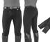 Umbria Equitazione EQUESTRO Pantaloni Uomo Modello Urano Cotone Elasticizzato Nero 58