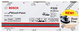 Bosch Professional 2608621176 Foglio Abrasivo M480 Best for Wood and Paint, Legno e Tinta,...