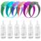 LifeBest Dispenser per Bracciale disinfettante per Mani in Silicone 6 Pezzi Dispenser con...