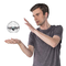 Air Hogs Supernova, Gravity Defying Hand-Controlled Flying Orb, for Ages 8 And Up, 6044137