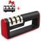 Affilacoltelli Sharp - Lambony 3 in 1 Professionale Antiscivolo Ergonomico per Affilacolte...