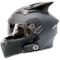 KIKTS Casco Moto Bluetooth, Impermeabile E Pioggia Non Influisce Sull'uso Casco da Moto, C...