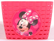 Kubbinga Disney Minnie, Cestino per Bicicletta Bambina, Rosa, Taglia Unica
