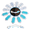 [6Pz] Blocca Cassetti per bambini - GAMBC® 3a Gen PIEGHEVOLE con adesivo 3M Top Quality -...
