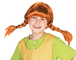 Pippi Calzelunghe Parrucca per bambina