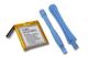 vhbw litio-polimeri batteria 450mAh (3.7V) per MP3 music player lettore musicale Apple IPo...