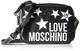 Love Moschino Jc4100pp1a, Borsa a Spalla Donna, Nero (Nero), 10x19x37 cm (W x H x L)