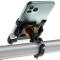 TEUEN Porta Telefono Bicicletta Alluminio Supporto Smartphone Bici Universale 360 Rotazion...