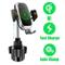 Caricabatterie per Auto Wireless Supporto per Portabicchieri per Telefono, Universal Senso...