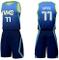 Tuta da Basket da Uomo Dallas Mavericks No.77 Luka Doncic Maglia da Basket Senza Maniche A...