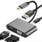 Adattatore VGA da USB C a HDMI, Hub Weton 4 in 1 da Tipo C a HDMI VGA Femmina con Converti...