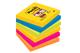 Post-it Super Sticky Foglietti, 90 Fogli, Confezione da 6 Blocchetti, 76 x 76 mm, Multicol...