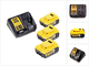 DeWalt DCB 115 P3 - Set di 3 batterie DeWalt 18 V 5,0 Ah + 1 caricatore DeWalt DCB 115 XR