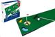 PGA Tour Tappeto per Putting per Casa e Ufficio, Putter Pieghevole, Verde