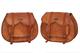moto laterale della borse laterali in pelle marrone lato della sella Panniers (2 borse) mo...