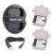 Newmowa BLF19 Batteria (confezione da 2) e Doppio Caricatore USB per Panasonic DMW-BLF19 P...
