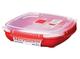 Sistema - Contenitore per spuntino/pranzo, 13,5 ml, plastica, Assorted colors, 400 ml