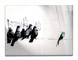 Giallobus Quadro Pronto da Appendere - Stampa su Vetro Acrilico Plexiglass - Banksy - Picc...