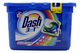 Dash Pods 3 in 1 Detersivo in Monodosi Salva Colore, 15 Lavaggi, Rimozione delle Macchie e...