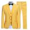Allthemen Abiti da Uomo 3 Pezzi Slim Fit Wedding T-Shirt Formale One Button Close Giacche...