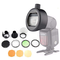 Godox S-R1 Flash Speedlight Adapter AK-R1 Anello adattatore per Godox TT685 V860II V350 TT...