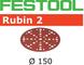 FESTOOL 575180 STF D150/48 P100 RU2/10 - Dischi abrasivi in acciaio, 10 pezzi, colore: gri...
