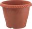 PLASTECNIC Vaso plastica per piante giardino sottovaso rotondo 20 cm Olimpo