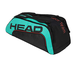 Head Tour Team 9R Supercombi, Borsa per Racchetta Unisex Adulto, Nero/Alzavola