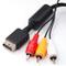 DIGIFLEX Cavo Audio Video per Sony Playstation 2 e 3 (PS2 e PS3) - 1.8 Metri