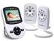 BabySense Video Baby Monitor con due fotocamere digitali, visione notturna a infrarossi, c...