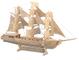 Quay Sailing Ship Woodcraft Kit di Costruzione