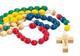 Rosario con perline in legno Rosario missionario con perline in legno. Corona del rosario....