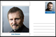 """Personalities - souvenir postcard (glossy 6""""x4"""", 260 gsm card) - Liam Neeson - unused and..."""