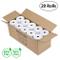 Methdal, rotoli di carta termica 80 x 80 mm 20 Rolls