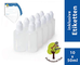 ProfessionalTree flaconcini contagocce da 10x50 ml con 10 Etichette - conservare e dosare...