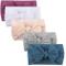 wanshop ® 5PCS Neonata Elastica Fascia, Capelli Bambina Multicolore Fascia,Regolabile Bamb...