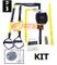 Fitness FSSSPXMG Kit Suspension Strap Cinghie Allenamento di Resistenza + Staffa di Ancora...